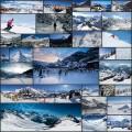 スイスの美しいスキーリゾートの写真(30枚)