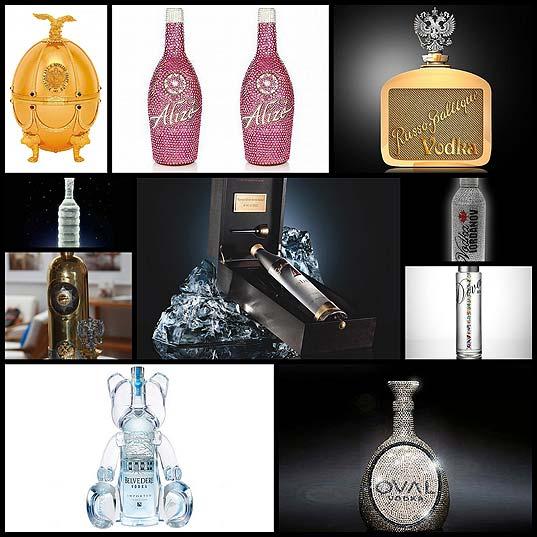 高級ウォッカのボトルデザイン(10例)