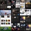 音楽サイトを題材にしたJoomla CMSのフリーテンプレート(20個+)