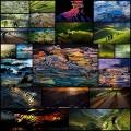 ステンドグラスのように美しい世界の棚田の写真(22枚+)