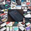 フラットデザインのiPhoneアプリのUI(40例)
