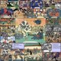 江戸時代に描かれたネコや獣を擬人化した日本画(33枚)