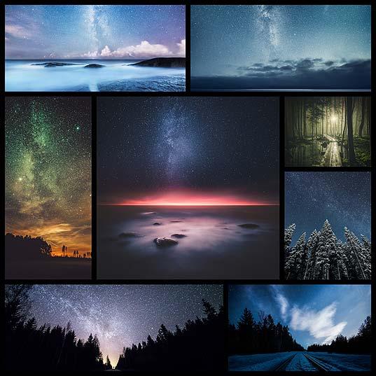 Mikko Lagerstedtによる、いつまでも眺めていたくなるフィンランドの星空風景(9枚)