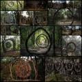 木などで作られた魔法の森のオブジェクト・アート(写真16枚)