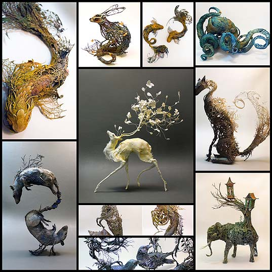 surrealist-sculptures-by-ellen-jewett-merge-plant-and-animal-life10