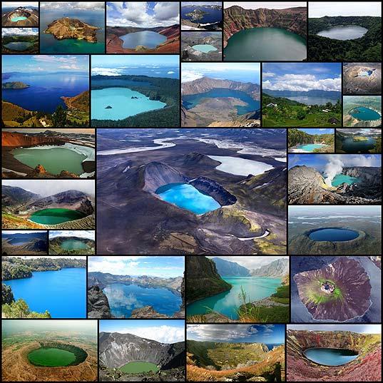 美しい火口湖30