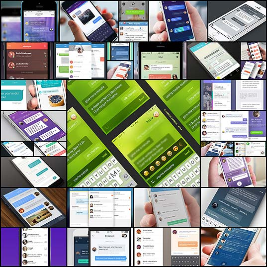 33-clean-chat-interfaces-for-mobile-app-designers