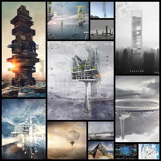 近未来建築物15