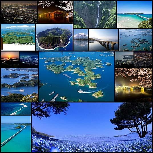 日本の最も美しい場所31選