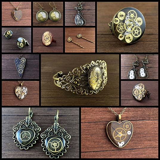 lithuanian-artist-creates-steampunk-jewelry-using-old-watches-parts14