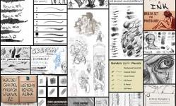 30-Sets-of-Pencil-Photoshop-Brushes--Best-Design-Options
