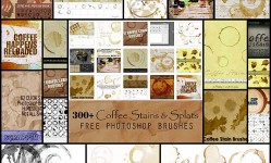 300+-Coffee-Stains-Photoshop-Brushes--Best-Design-Options