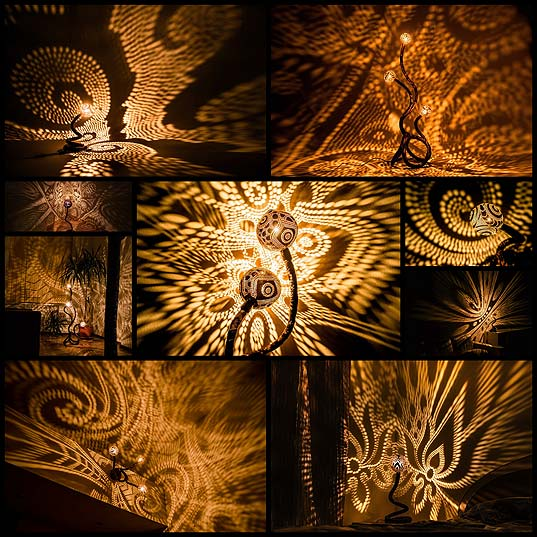 Artist-Drills-Coconuts-into-Lamps-That-Shine-Gorgeous-Patterns-of-Lights---My-Modern-Met