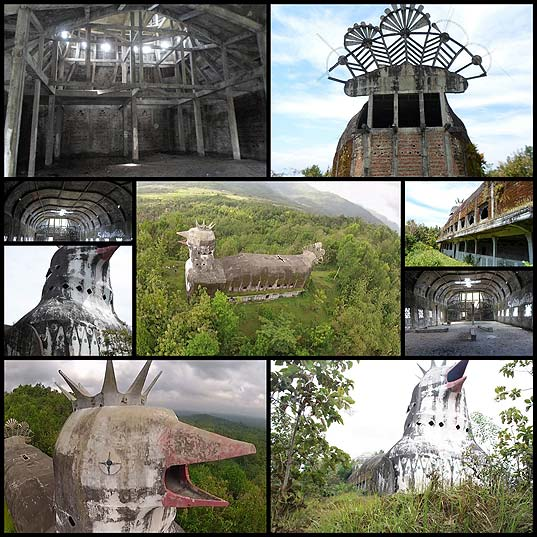 An-Abandoned-Indonesian-Church-Shaped-Like-a-Massive-Clucking-Chicken--Colossal