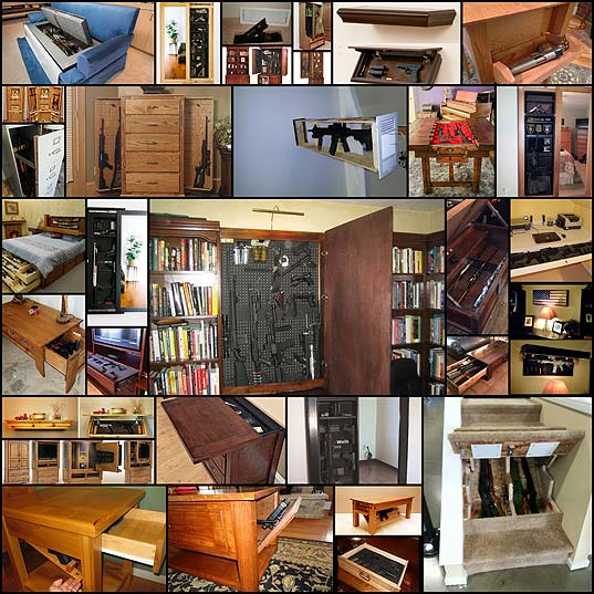 Household-hidden-gun-storage--theBRIGADE