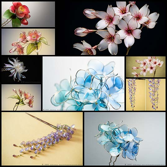 New-Japanese-Floral-Hair-Ornaments-Handcrafted-from-Resin-by-Sakae--Colossal