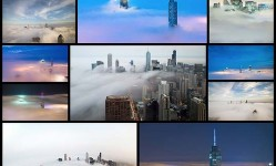 Spectacular-Photos-of-Chicago's-Skyscrapers-Piercing-Layers-of-Fog-and-Clouds---My-Modern-Met