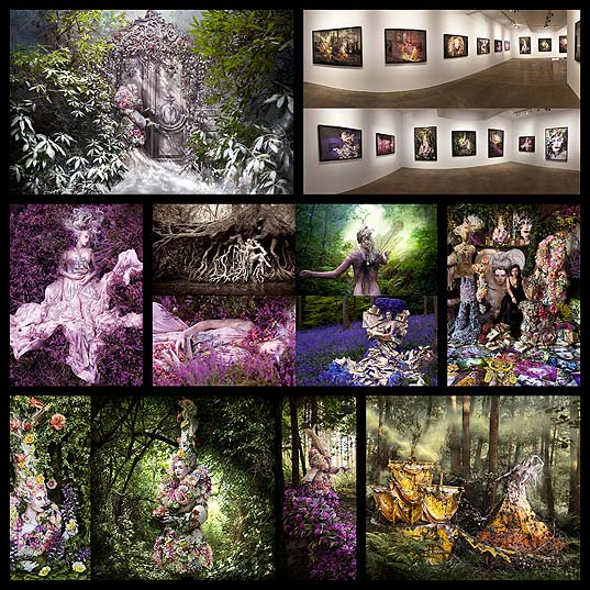 The-Wonderland-Book-Photographer-Kirsty-Mitchell-Honors-Her-Mother-Through-Lavish-Conceptual-Portraits--Colossal