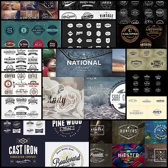 15-Free-Vintage-Logo-Template-Collections-(120-Logos)