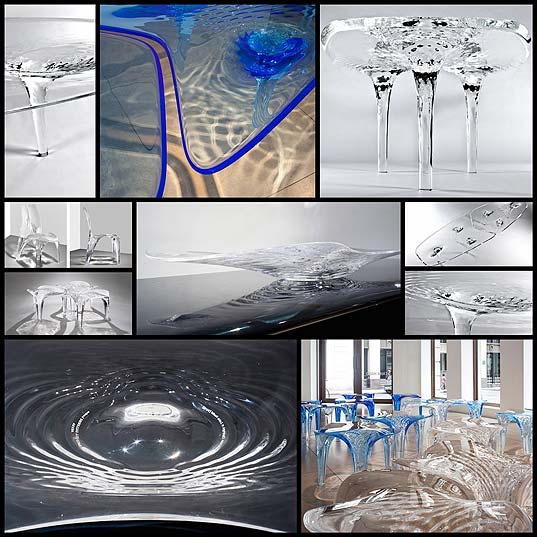 "Zaha-Hadid's-""Liquid-Glacial""-Furniture-Mimics-Rippling-Water-Frozen-in-Time---My-Modern-Met"