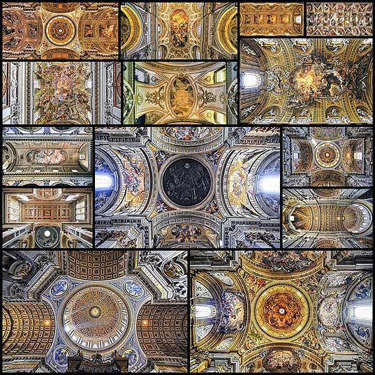 Photographer-Captures-the-Amazingly-Ornate-Ceilings-of-Roman-Churches-on-an-Architectural-Pilgrimage---My-Modern-Met