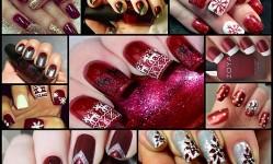 14-Low-Key-Maroon-Christmas-Nail-Art-Designs
