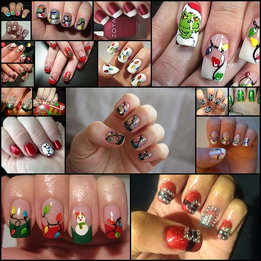15-Bright-Christmas-Tree-Nail-Art-Designs