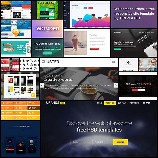 20-Fresh-and-Free-HTML-and-PSD-Templates-plus-GUI-Packs-December-2015---noupe