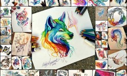 Watercolor-Pencil-Animals-By-Katy-Lipscomb-(Interview)--Bored-Panda