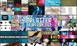 100-Sets-of-Free-Photoshop-Brushes