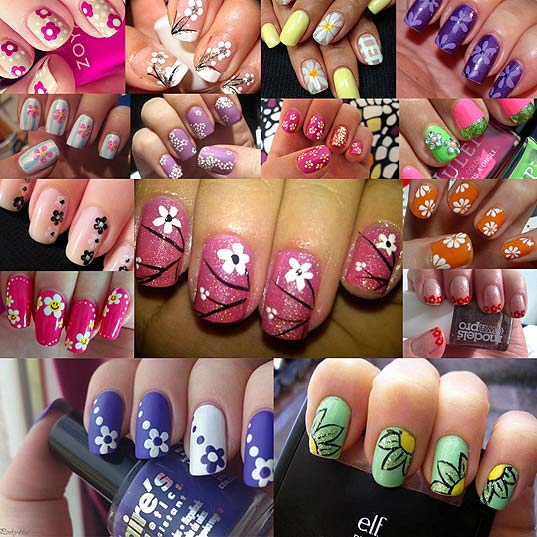 14-Cute-and-Easy-Flower-Nail-Designs