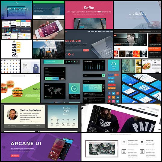 20-Fresh-and-Free-HTML-and-PSD-Templates-plus-GUI-Packs-January-2016---noupe