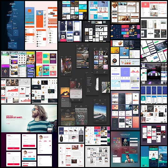 30-Free-Web-&-Mobile-UI-Kits-For-Your-Collection---Hongkiat