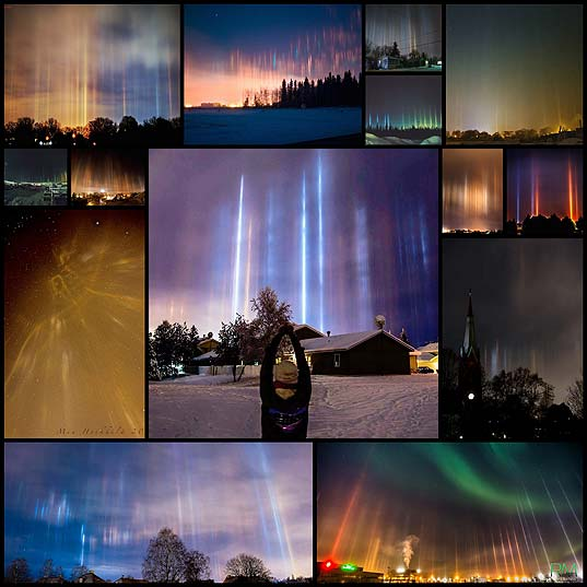 Rare-Cold-Weather-Phenomenon-Displays-Mesmerizing-Light-Pillars-in-the-Sky---My-Modern-Met