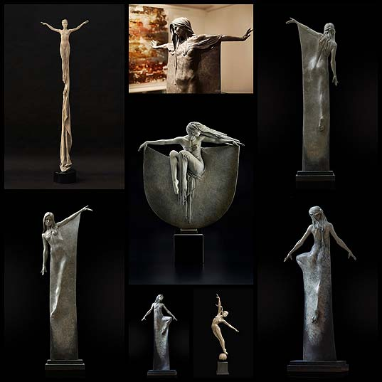 Breathtaking-Bronze-Sculptures-Celebrate-the-Visual-Poetry-of-the-Human-Form---My-Modern-Met