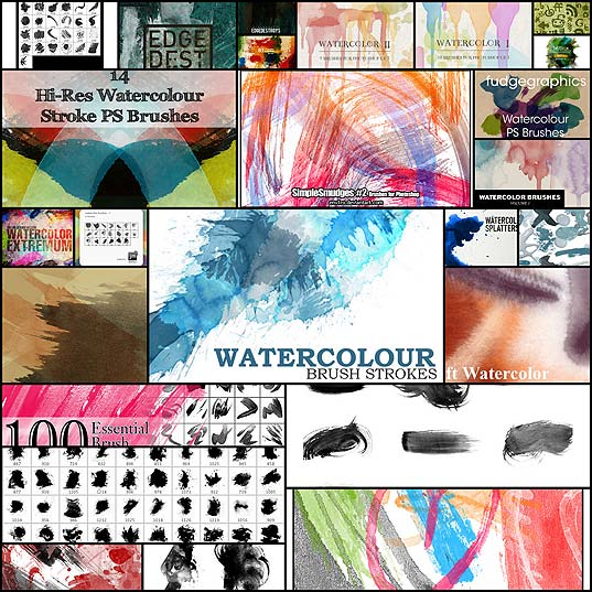 25-Free-Watercolor-Brush-Sets-for-Skilled-Digital-Artists
