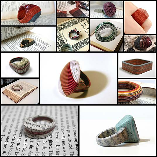 Artist-Excavates-Discarded-Books-to-Transform-Their-Pages-into-Stunning-Jewelry---My-Modern-Met