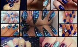 13-Wild-Blue-Nail-Designs