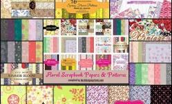 160+-Free-Floral-Scrapbook-Paper-Packs--Best-Design-Options