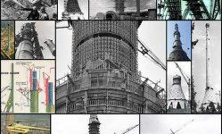 写真でオスタンキノタワー•ニュースを構築する方法についての18人事