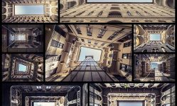 Extreme-Vantage-Point-Transforms-Historic-Buildings-into-Tunnels-to-the-Infinite-Sky---My-Modern-Met