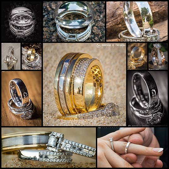 Photographer-Captures-Beautiful-Photos-of-Newlyweds-in-Wedding-Ring-Reflections---My-Modern-Met