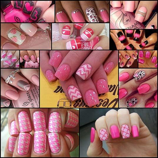 15-Rockin'-Pink-Nail-Art-Designs