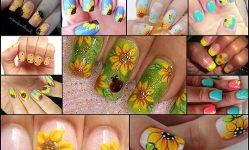 15-Sunflower-Nail-Designs-for-Summer-and-Beyond