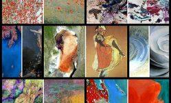 有名な絵画と非常に類似した宇宙から見た地球の写真