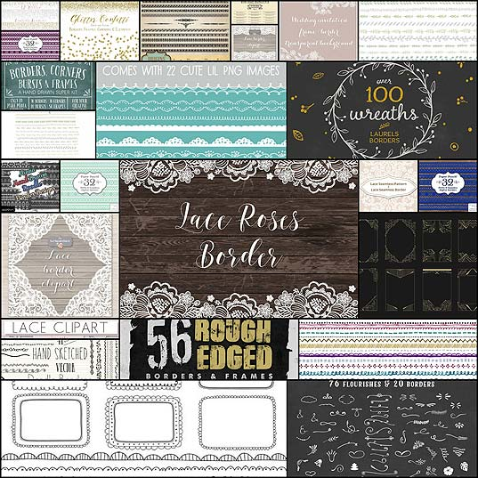30+-Vector-Borders-&-Dividers--Design-Shack