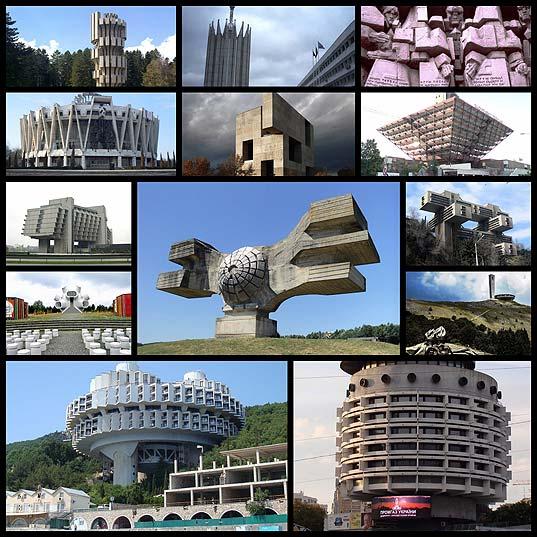 社会主義時代の12ほとんどの不合理な建物