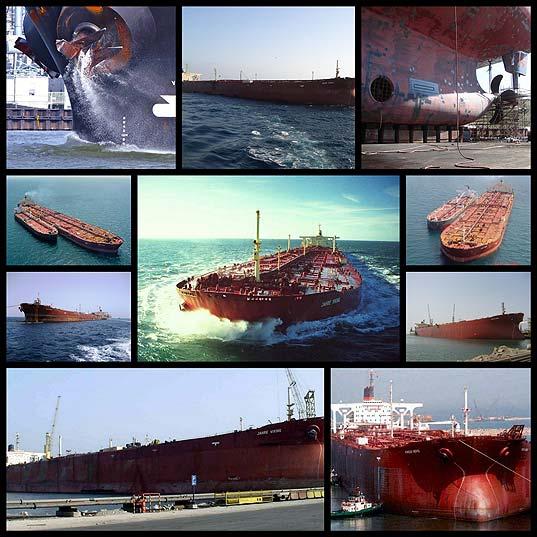 オイルタンカーは、世界で最大の船«ネイビスノック»