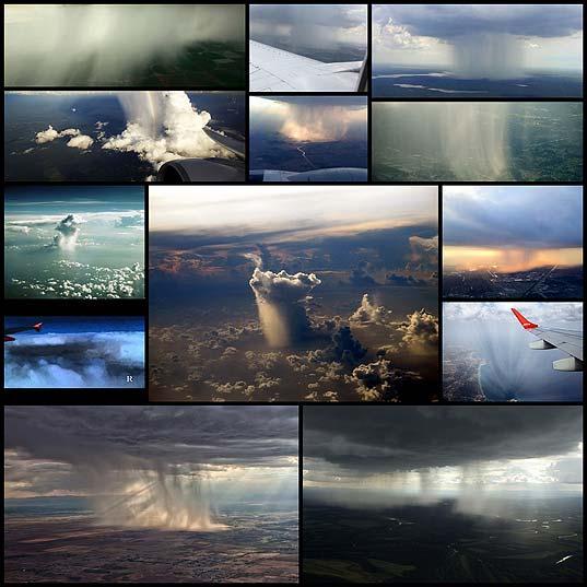 Дождь-из-окна-самолета-зрелище,-которое-захватывает-дух
