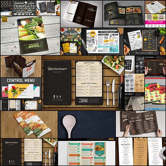30-Food-&-Drink-Menu-Templates--Design-Shack